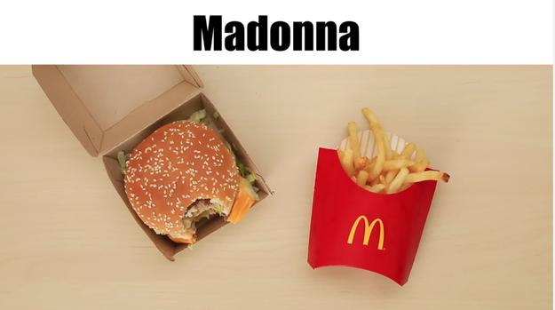 McDonald's = Madonna