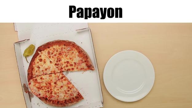 Papa John's = Papayon