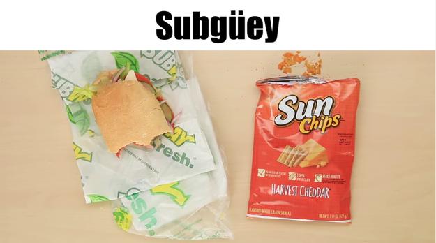 Subway = Subgüey