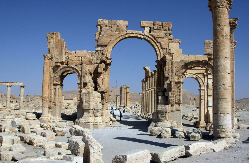 This Is What Palmyra Looks Like After Being Recaptured From ISIS