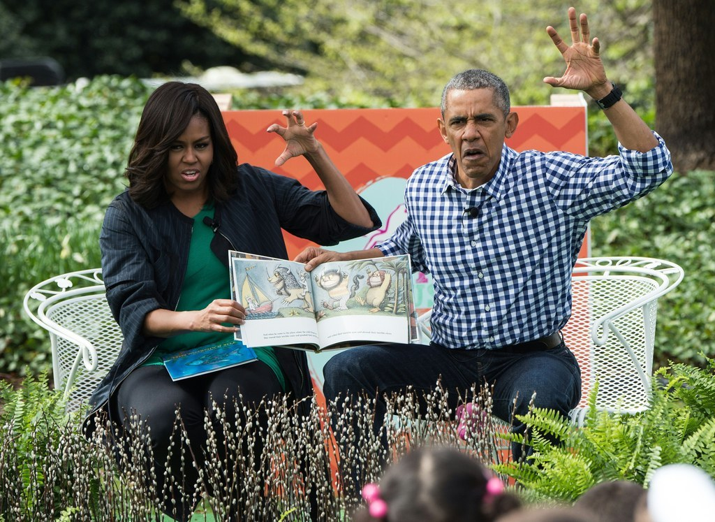 The Obamas' Faces While Reading A Story For Kids Are Just Incredible