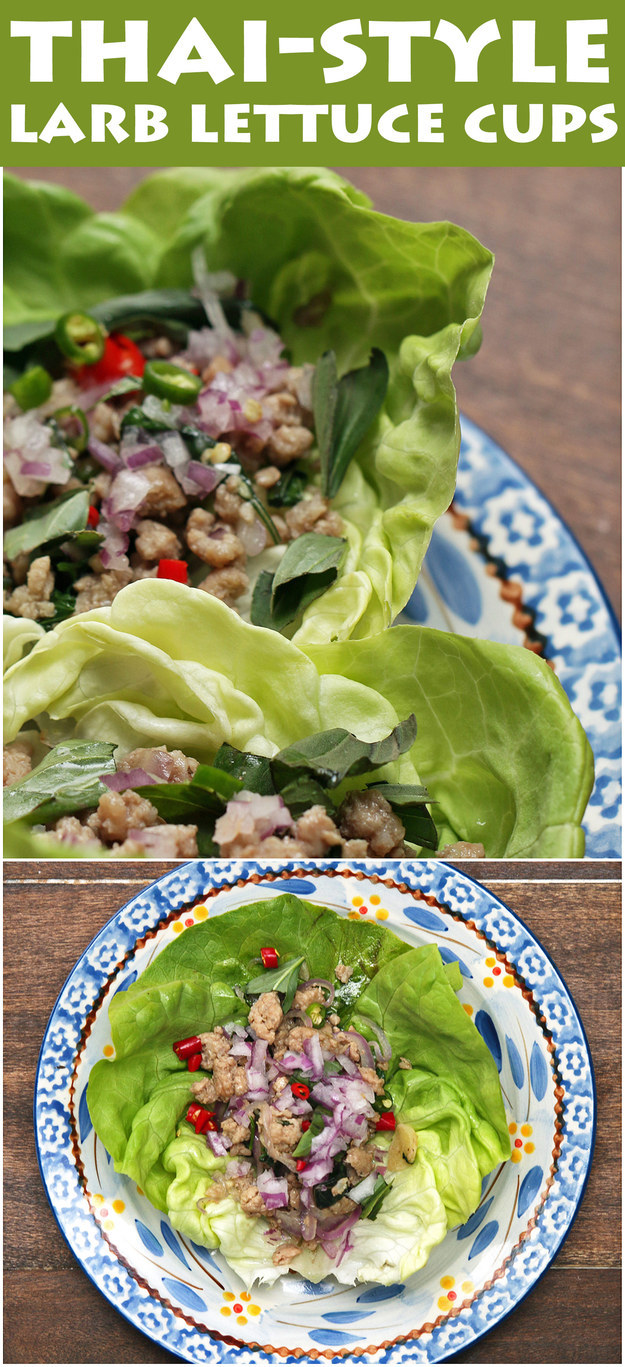 Make These Delicious Thai-Inspired Lettuce Cups And Enjoy