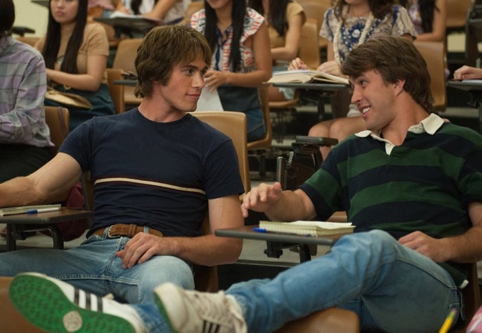 Blake Jenner and Temple Baker in Everybody Wants Some!!