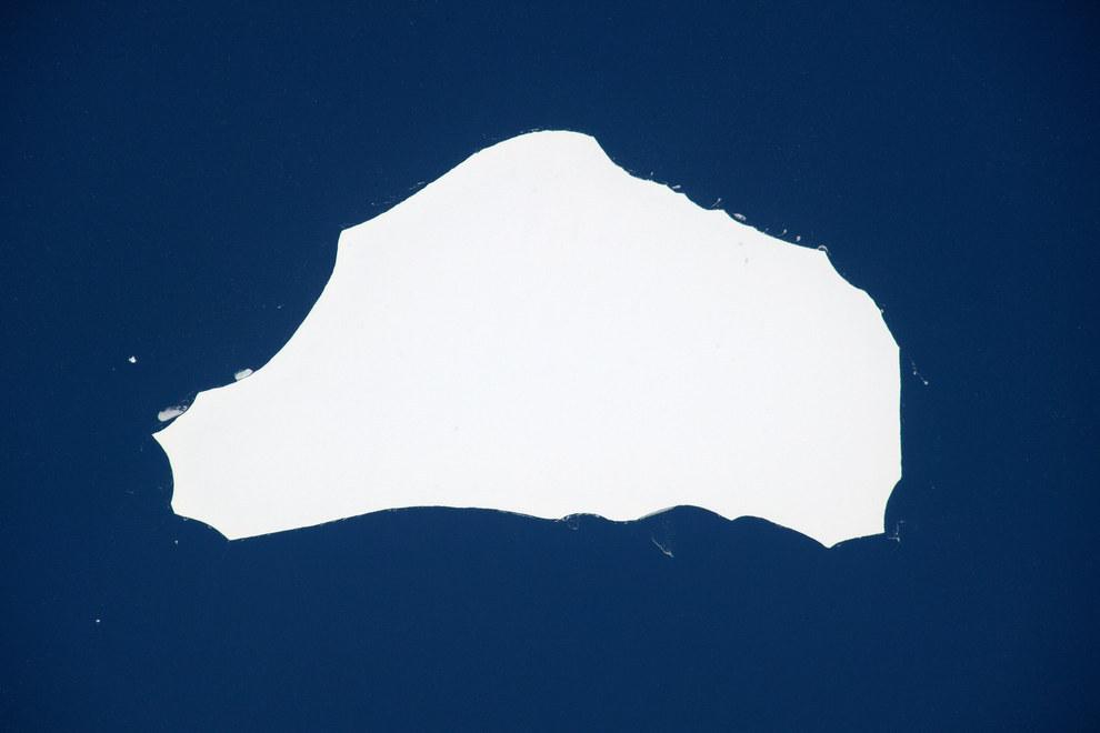 Australia or an iceberg?