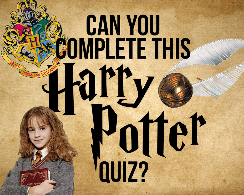 how well do you actually know harry potter
