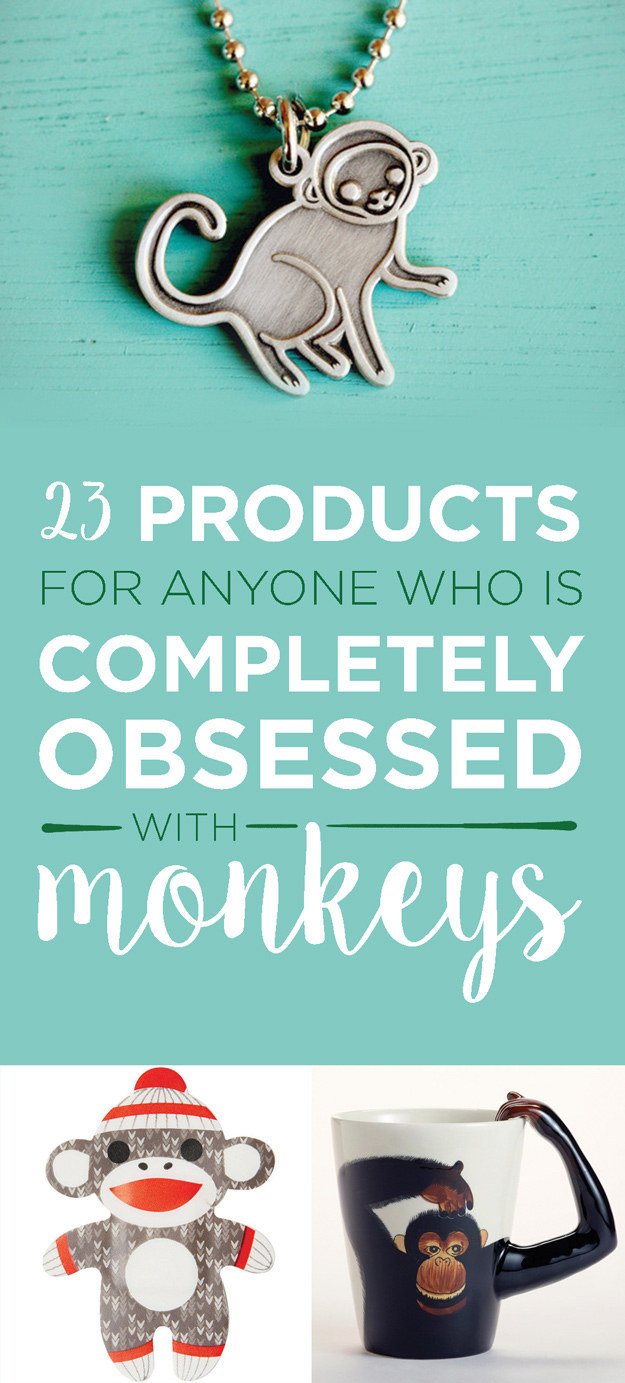 23 Products To Buy For The Year Of Monkey
