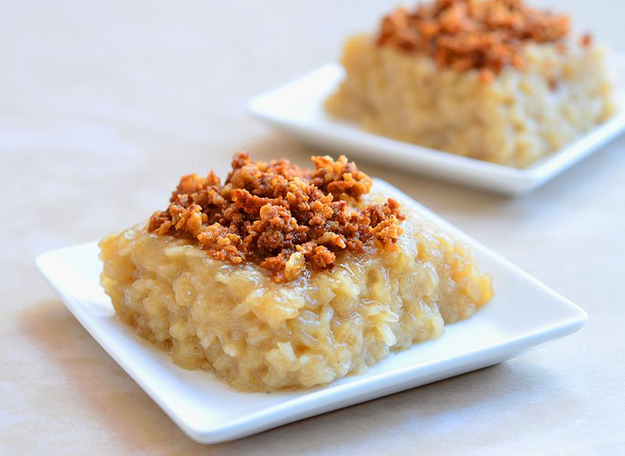 Because we've mastered the art of sweet rice: