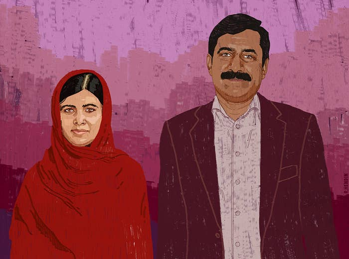 Malala was shot in the head by the Taliban while she sat on a school bus in northern Pakistan. She has since become a champion for girls' education.