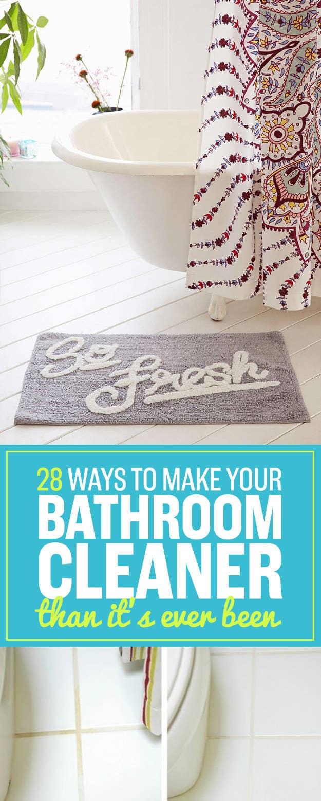 Make bathroom cleaner - Share On Facebook Share