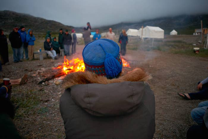 The Torngat Mountains National Park attracts adventurers from around the world, along with researchers and many local Inuit. Don't be surprised to find every out in the evenings rubbing elbows around the fire.