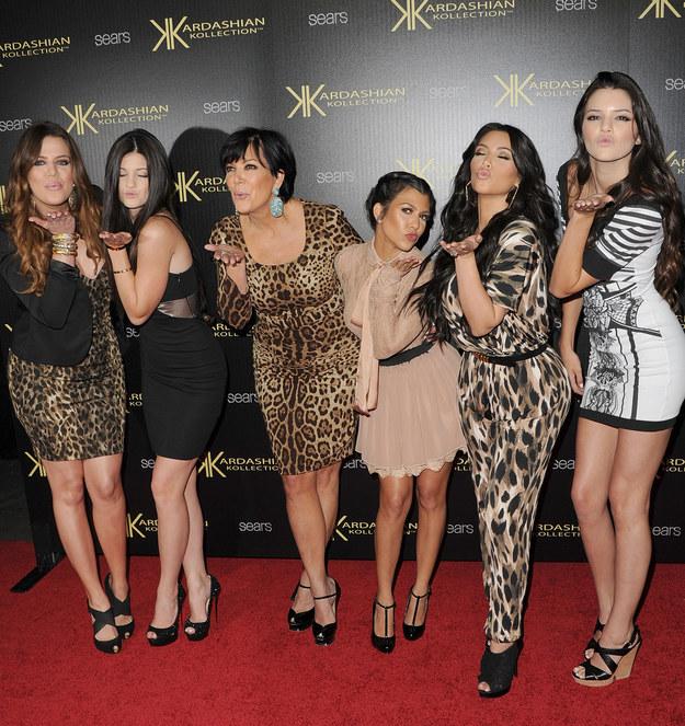 Las Kardashians... realmente amaban el print de leopardo. ¡Couture!