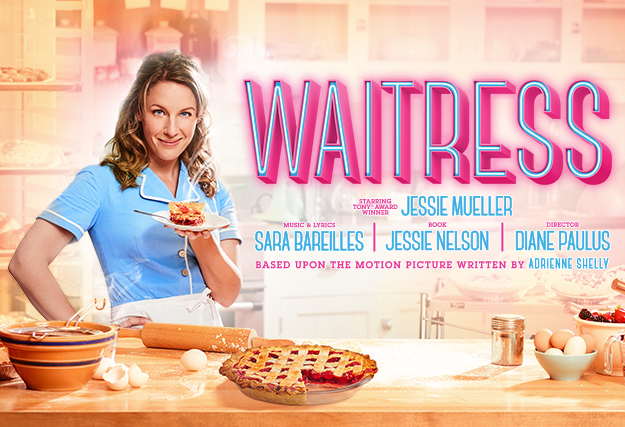 Waitress, a new musical production starring Jessie Mueller, is currently in previews on Broadway.