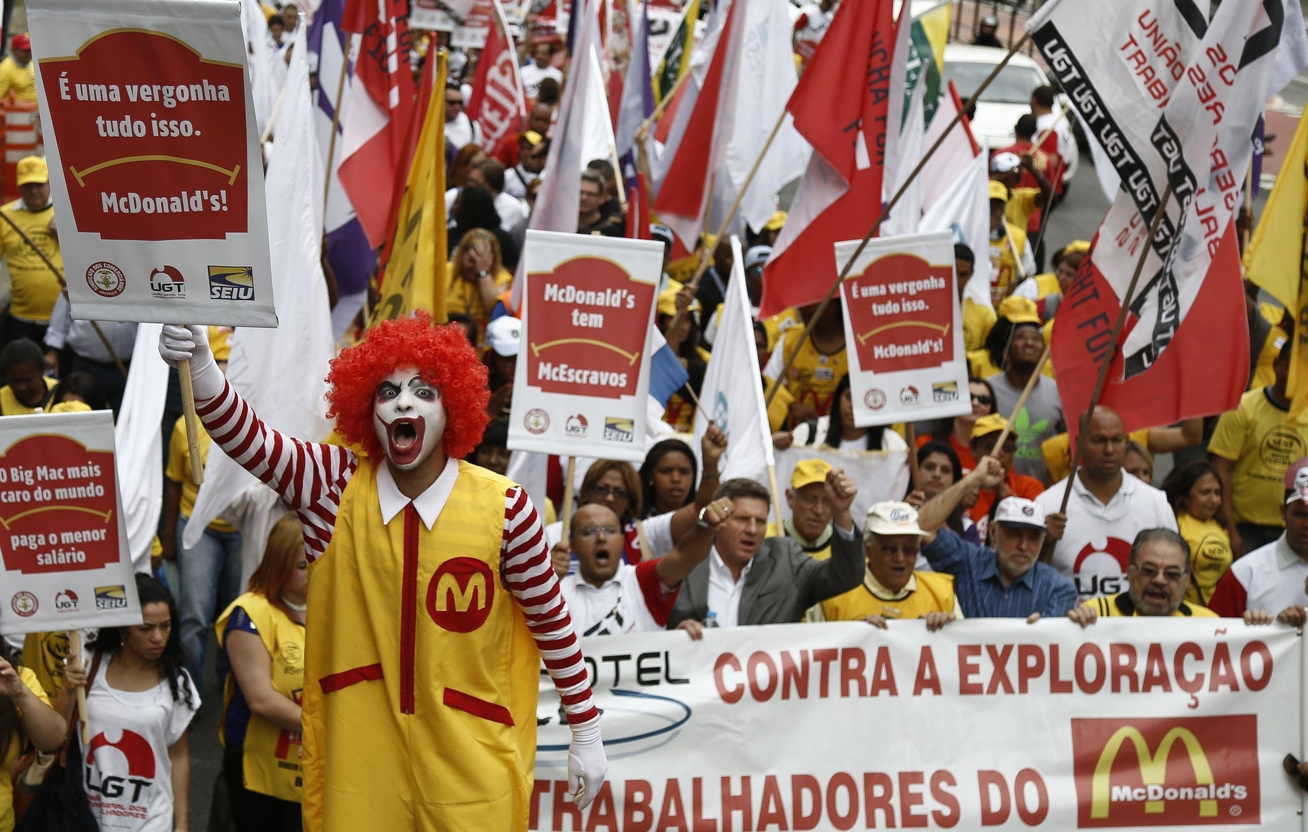 McDonald's Is Under Criminal Investigation In Brazil