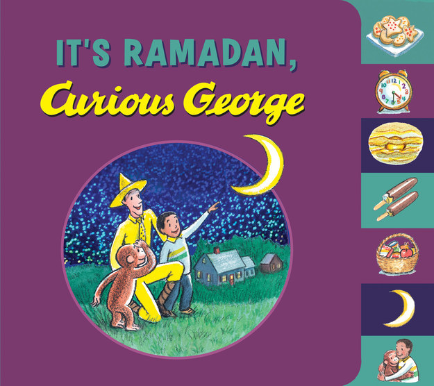 Curious George has celebrated Christmas, Thanksgiving, and Hanukah. Soon, he'll learn about the Muslim month of fasting in It's Ramadan, Curious George.