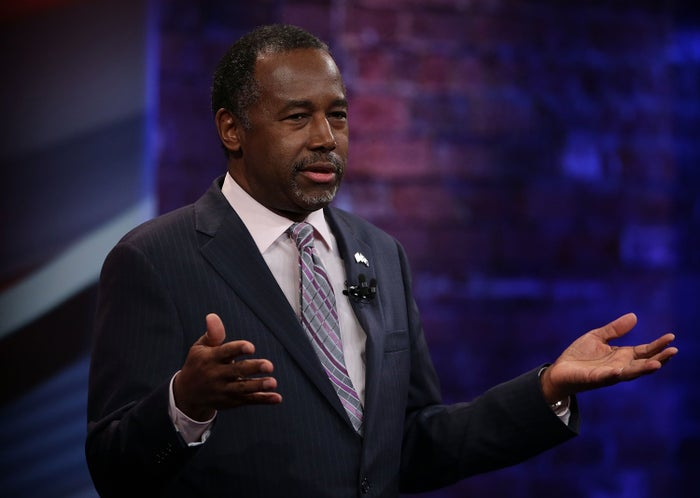 Ben Carson at a South Carolina Republican Presidential Town Hall on Feb. 17.