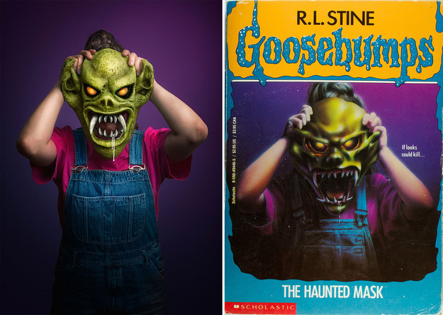 These two artists from Australia have collaborated to bring iconic Goosebumps covers to life.