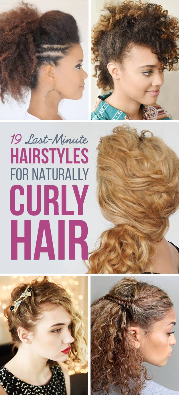 19 naturally curly hairstyles for when youre already running late share on facebook share urmus Images