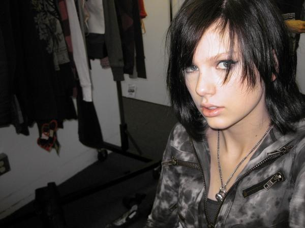 ... and here's just a really random emo pic that screams Myspace but is actually from an appearance on CSI.