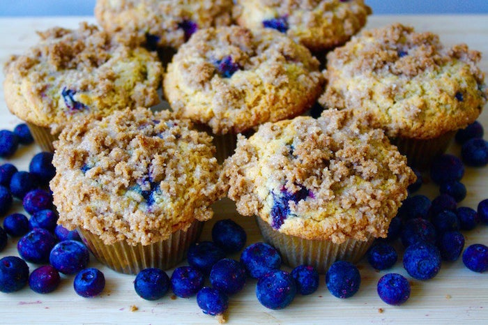 Skip your morning trip to the bakery and have one of these homemade blueberry muffins instead. Recipe here.