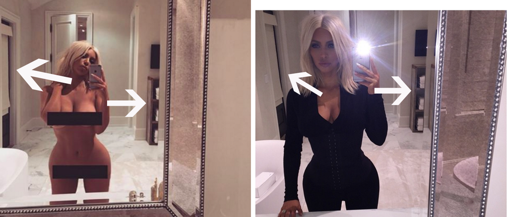 Kim Kardashian Could Have Fooled Us All With Her Naked Selfie-3825