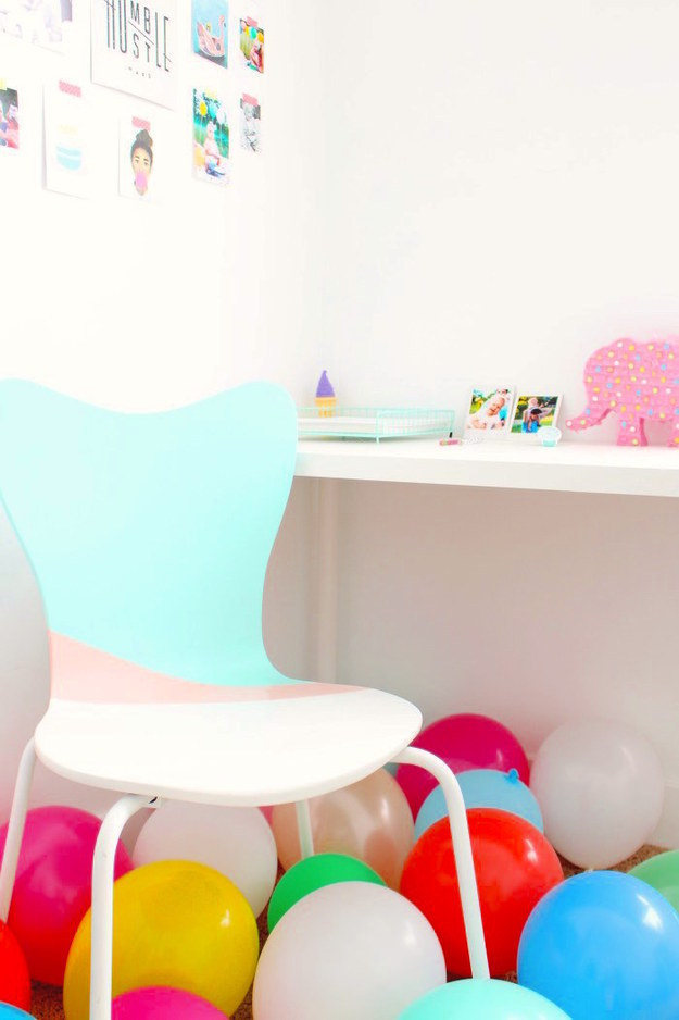 Turn your office chair into a party chair: