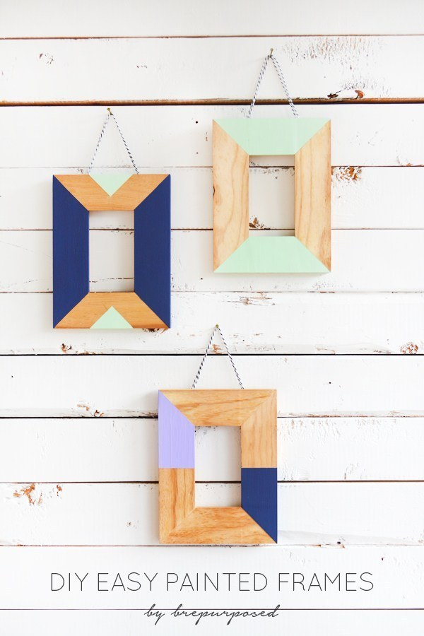 Frame your favorite moments in colorblocked perfection: