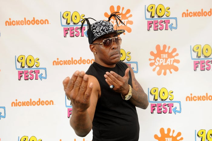 In 2010, Coolio became a juggalo.