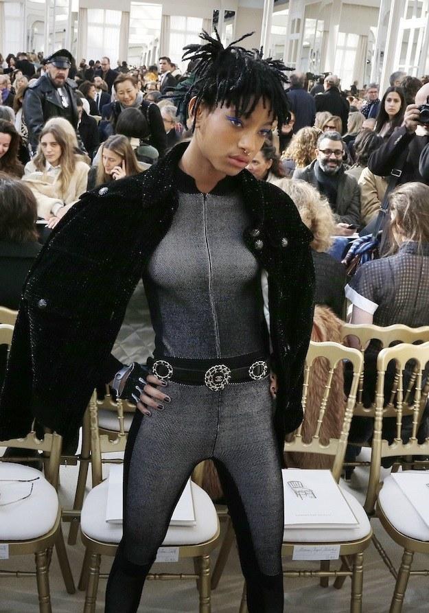 Willow Smith Simplesmente Arrasou Na Paris Fashion Week