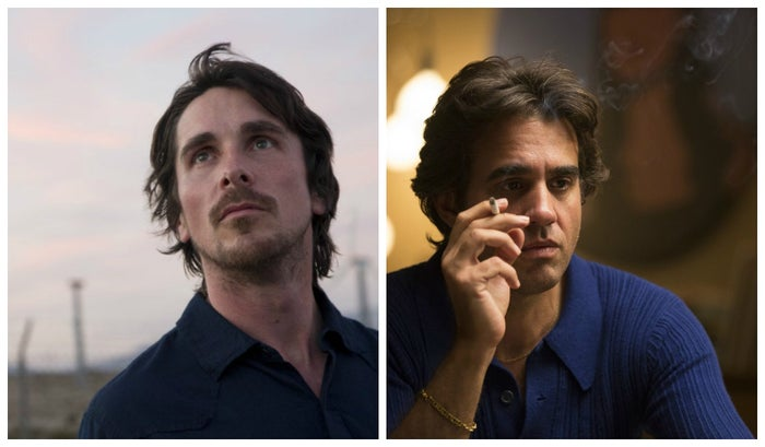 Christian Bale in Knight of Cups and Bobby Cannavale in Vinyl.