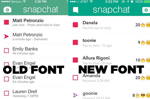 how to change font on snapchat on iphone