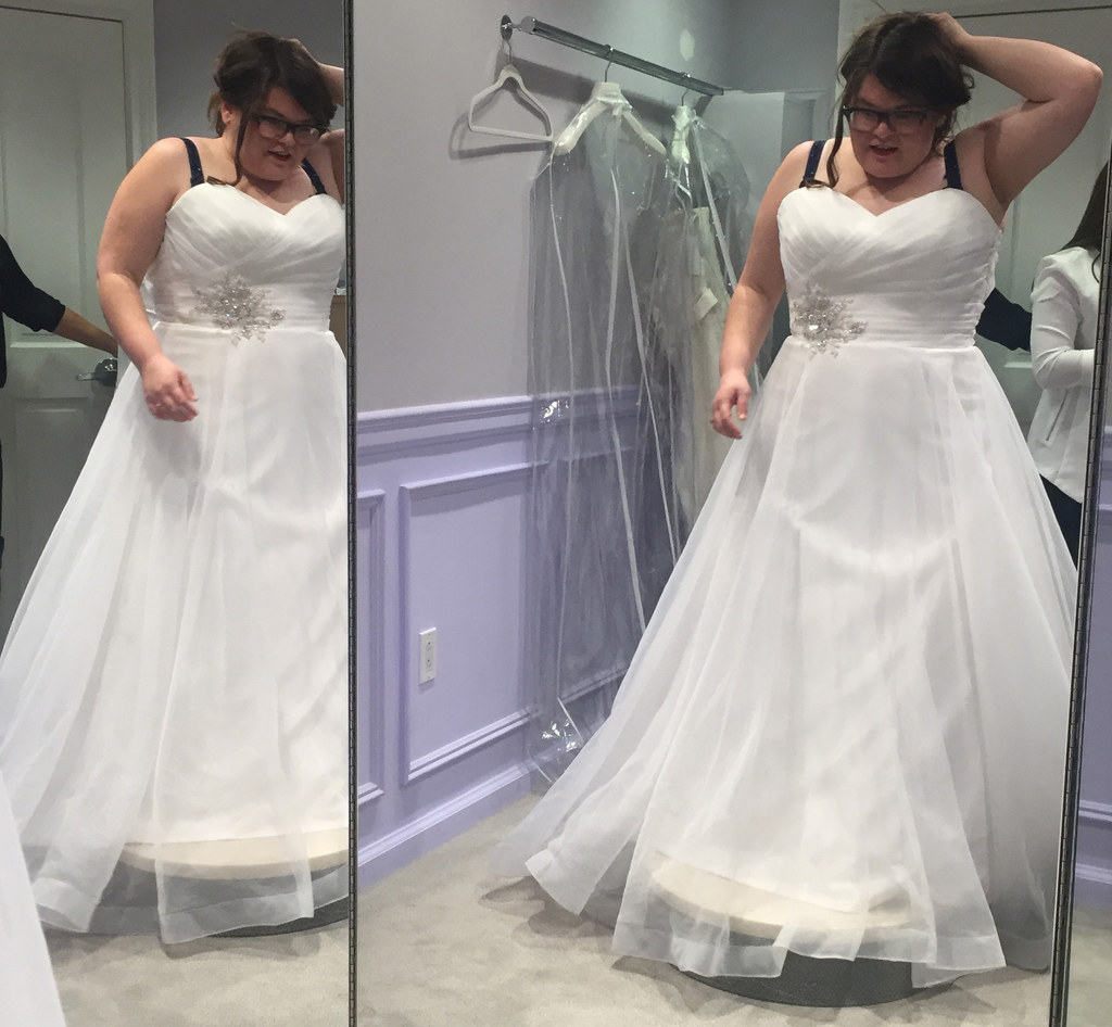 """I Went To The Bridal Salon From """"Say Yes To The Dress"""" And"""