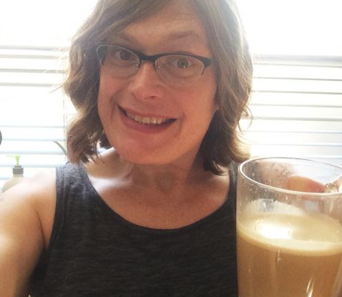 The Windy City Times published this selfie of Lilly Wachowski.
