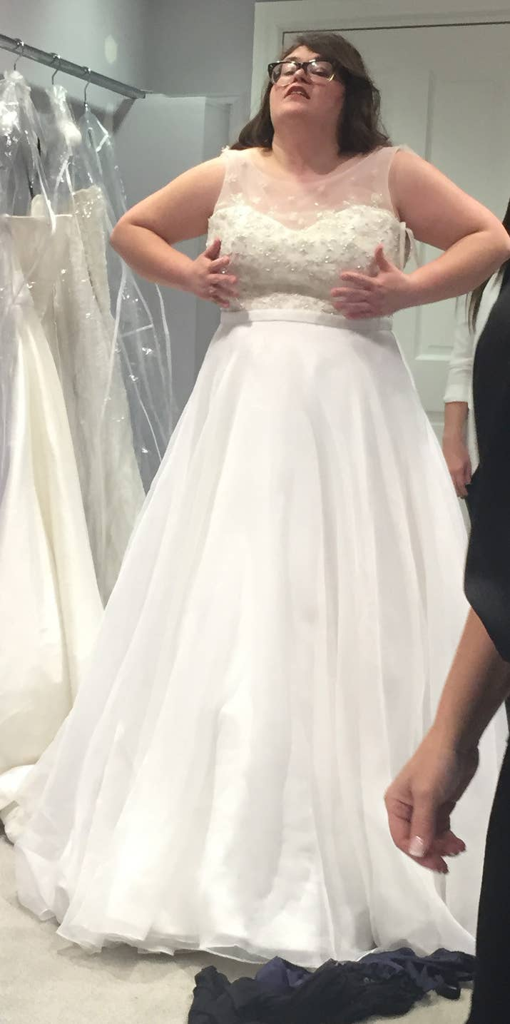 I went to the bridal salon from say yes to the dress and it was seriously having the consultants pick my dresses for me was much more effective because ombrellifo Choice Image