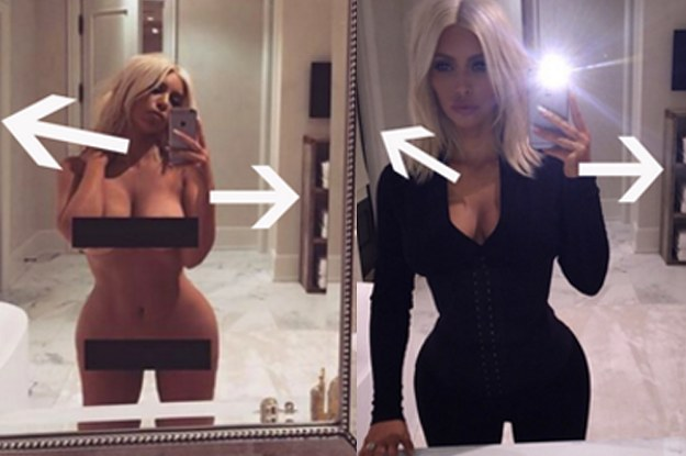 Kim Kardashian Could Have Fooled Us All With Her Naked Selfie-8823
