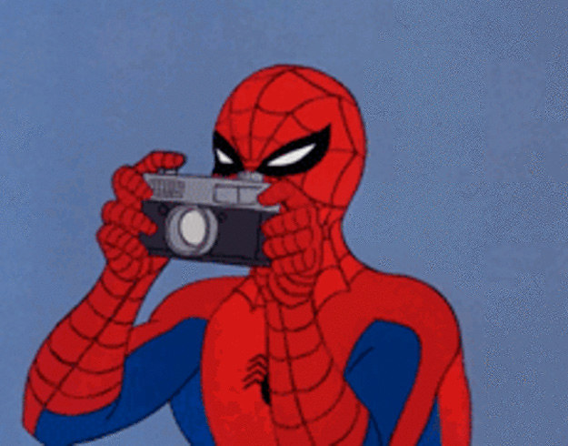 смешные картинки из человек паук 1994 книгу
