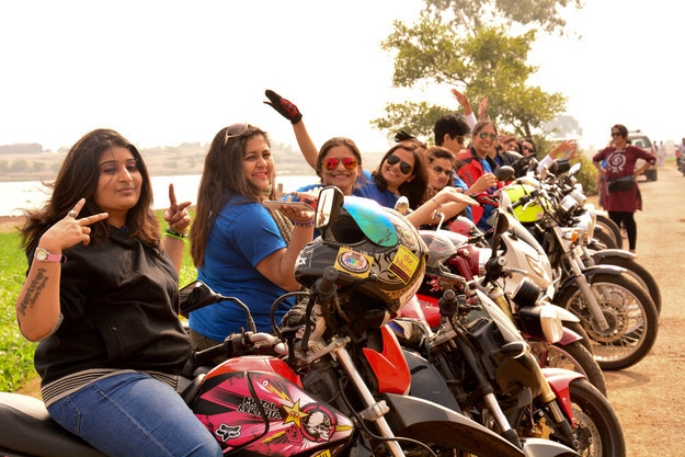 Bikerni was started in 2011 with the purpose of empowering women who like to ride bikes, and so Patole started a Facebook group to get in touch with like-minded women across the country.
