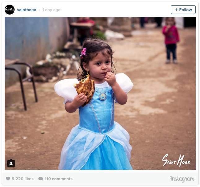 A Middle Eastern artist recently threw a Disney-themed costume party at a Syrian refugee camp in Lebanon. Disney princesses act as a beacon of hope for a lot of young women, he told BuzzFeed News.