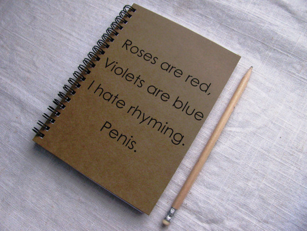 This journal for the poet in your life.