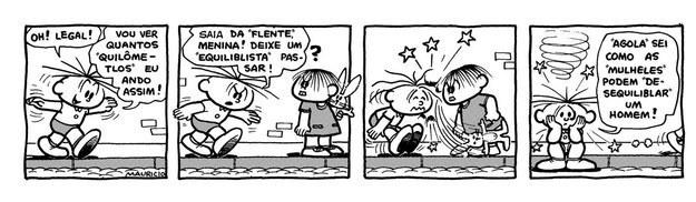 Um dos comentaristas lembrou da primeira aparição da Mônica, que chegou no bairro do Limoeiro depois da turma, mas logo virou a protagonista.