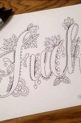 Fill In A Coloring Book That Suits Your Zen Whether Thats Swearing Mystical Gardens Or Cupcakes