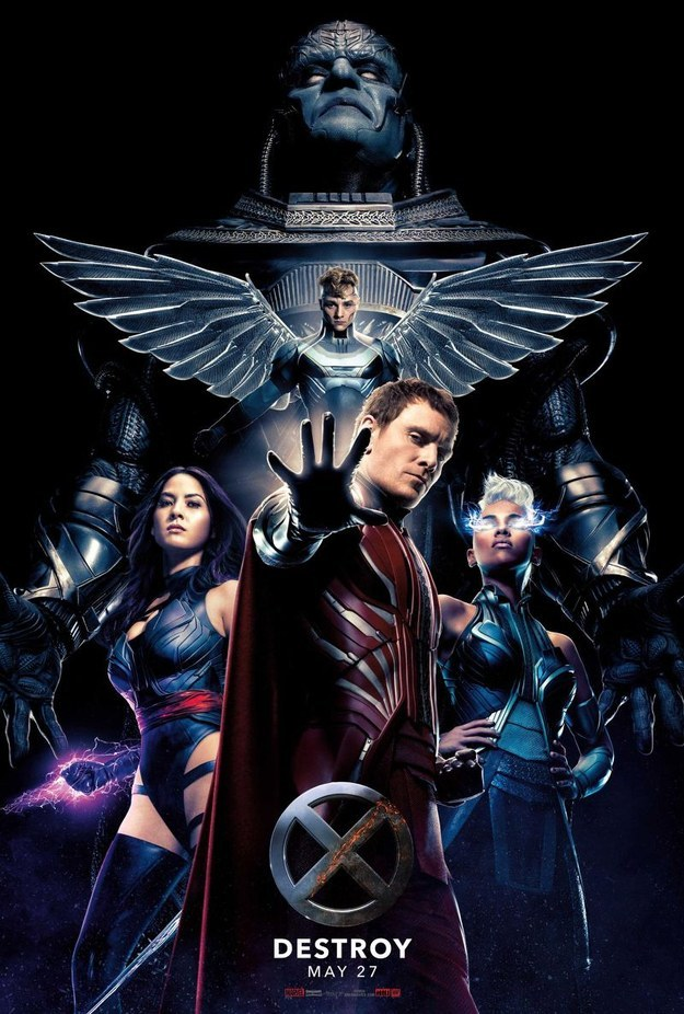 Over at Yahoo! Movies, we've been given a first look at all our villains in the upcoming X-Men: Apocalypse.