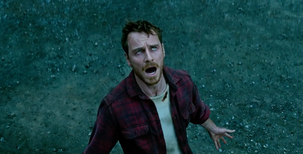 Magneto (Michael Fassbender) was not looking great in the trailer.
