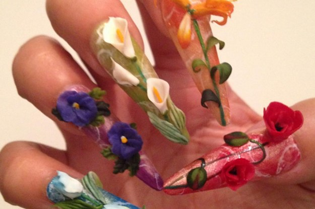 You Should Seriously Take A Look At This Japanese Nail Art