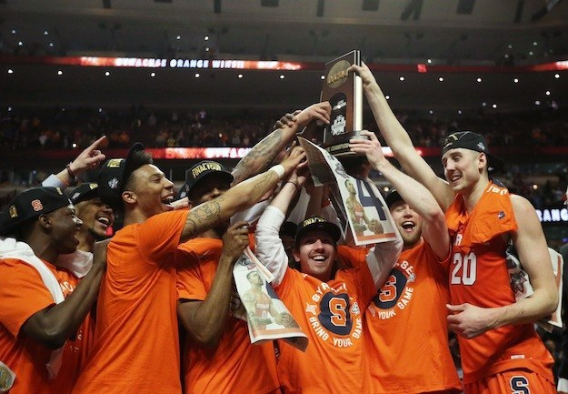 ...for everyone who's watched Syracuse power through the first round, second round, Sweet Sixteen, and Elite Eight...