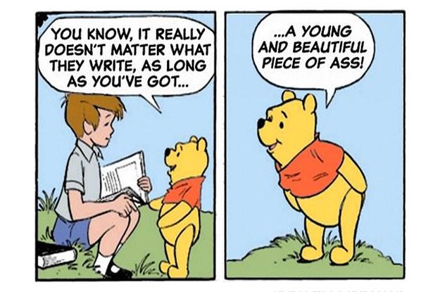 If Winnie The Pooh Said The Same Things As Donald Trump