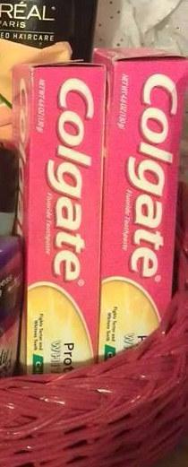 Progesterona en tu pasta de dientes.