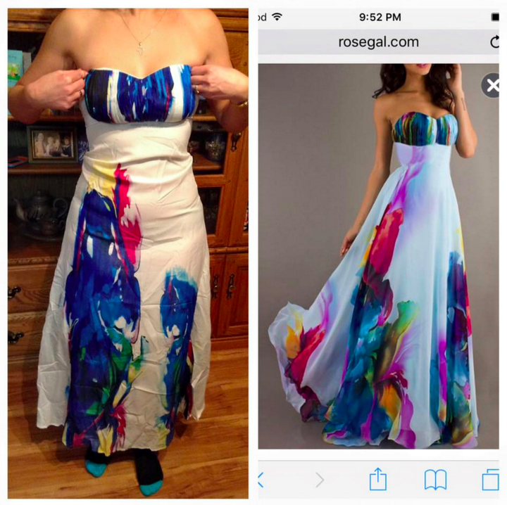 Prom dress ebay fraud