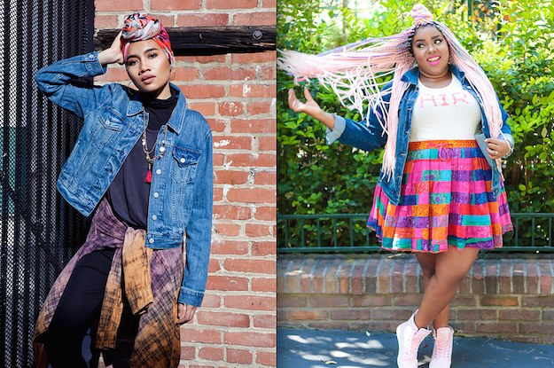 9ff6bd96a22 We Asked 17 People To Style A Denim Jacket And The Results Are Badass