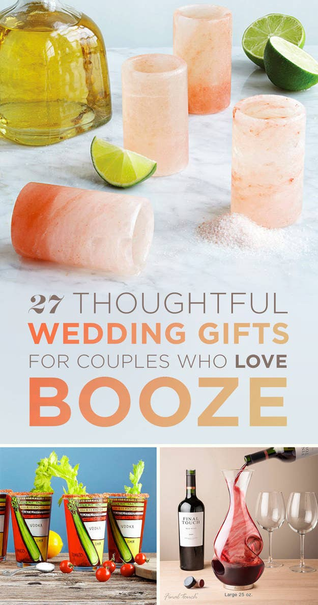 27 Thoughtful Wedding Gifts For The Couple Who Loves To Drink
