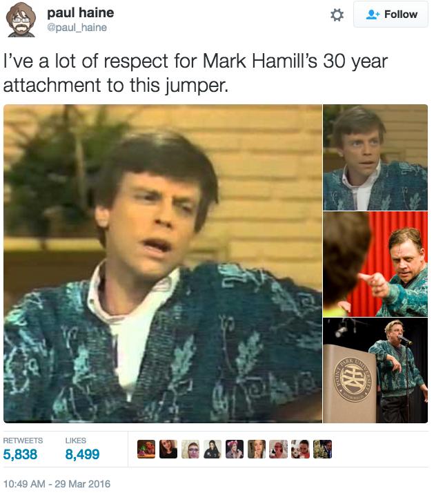 Mark Hamill Twitter